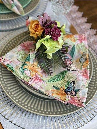 Guardanapo Floral Borboleta