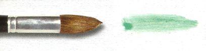 Pincel 155 Redondo Pontiagudo Orelha de Boi Cabo Médio (Pinctore/TIGRE)