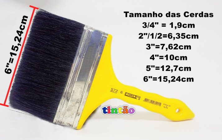 Trincha Dupla 572 Cerda Preta (Mestre/TIGRE)