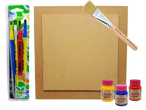 Kit de Pintura Dia das Crianças 04 - Faça você mesmo!
