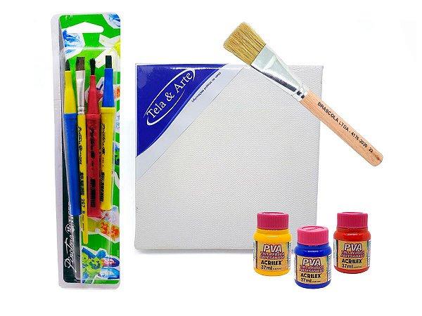 Kit de Pintura Dia das Crianças 05 - Faça você mesmo!