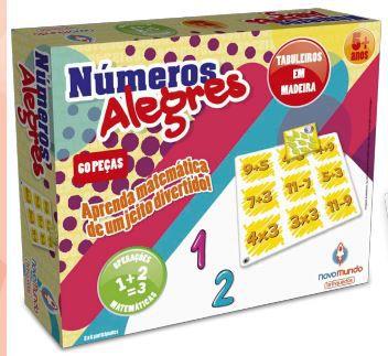 NÚMEROS ALEGRES - MADEIRA