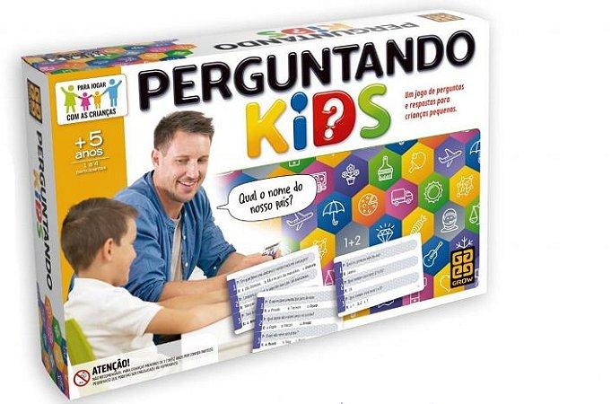 PERGUNTANDO KIDS - LANÇAMENTO