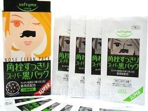 Kosé Softymo Nose Pack - Adesivo retira cravos ( 10 Adesivos )