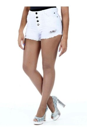 672b4d7ca Shorts Sarja Boyfriend Hot Pants Sawary - B.C Store Virtual