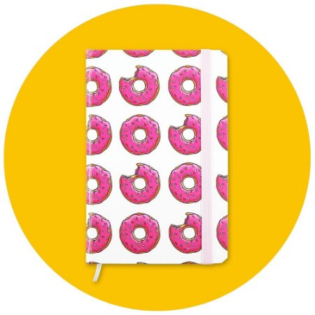 Sketchbook Donut - Pequeno