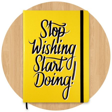 Sketchbook Stop Wishing Start Doing!