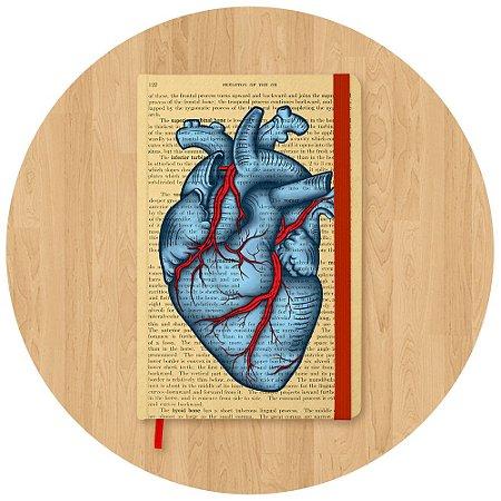 Sketchbook Coração - Pequeno