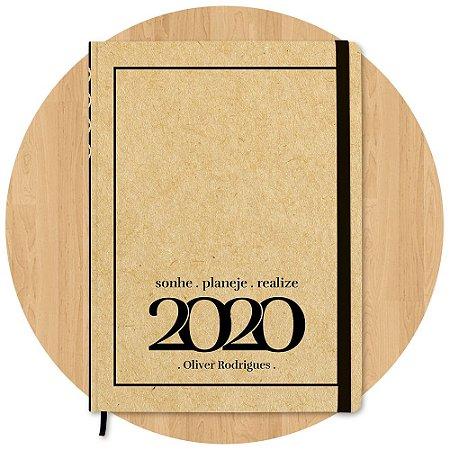 Planner 2020 Executivo - Personalizado c/ Nome