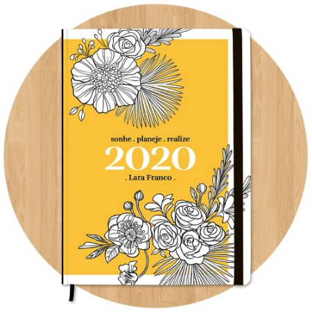Planner 2020 Floral - Personalizado c/ Nome