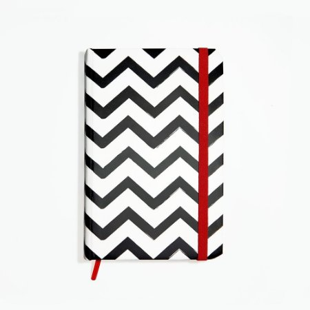 Sketchbook Zig Zag Black - Pequeno