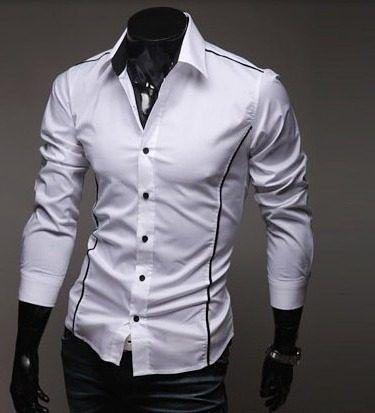 Camisa Social Importada , Slim Fit ( A Pronta Entrega )