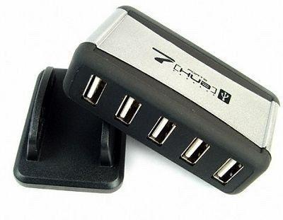 Hub Com 7 Portas Usb 2.0 -480mbps + Fonte Bi-volt