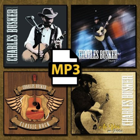 MP3 Coletânea Charles Busker (4 volumes)