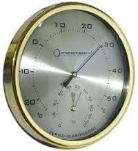 Termo-higrômetro analógico tipo relógio ref 7527