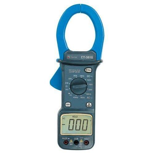 Alicate Amperimetro digital AC/ DC  MOD ET 3810 Minipa
