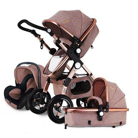 carrinho de beb 3 em 1 mois s passeio com beb conforto shop tudo mix ofertas incr veis. Black Bedroom Furniture Sets. Home Design Ideas