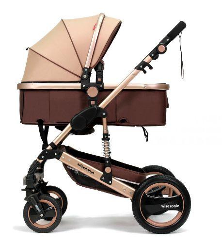 Carrinho de Bebê Stroller Wise 2 em 1 Moisés e Passeio