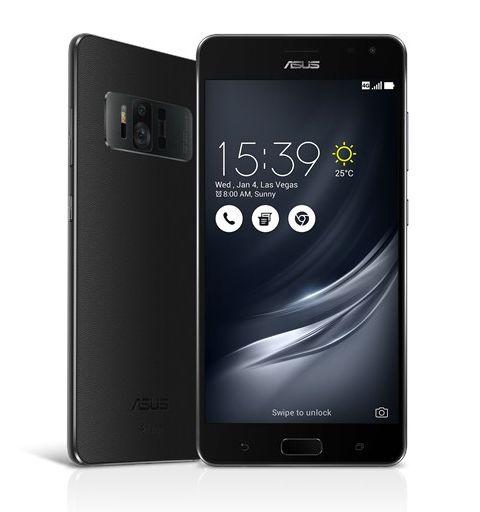 """Smartphone ASUS Zenfone AR ZS571KL 8GB RAM 128GB ROM Tela 5.7"""" 23MP Dual Sim Desbloqueado Preto"""