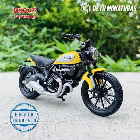 Miniatura Ducati Scrambler Icon 2015 Maisto 1:18
