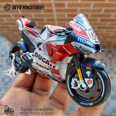 Miniatura MotoGP Andrea Dovizioso 2018 Maisto 1:18