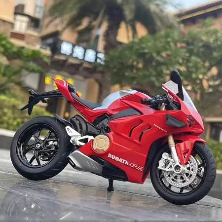 Miniatura Ducati Panigale V4 S Huayi 1:12