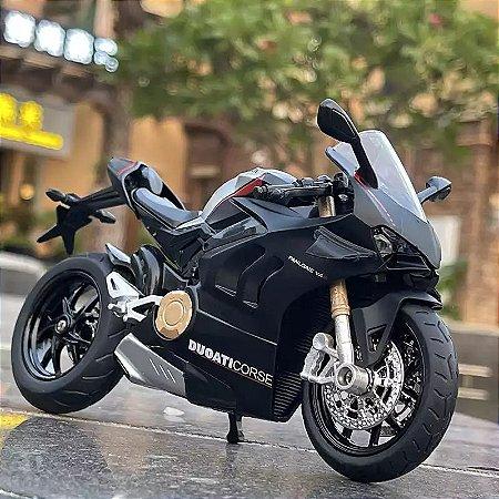 Miniatura Ducati Panigale V4 S Huayi 1:12 - Lançamento