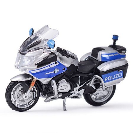 Miniatura BMW R 1200 RT 2016 Polícia Alemanha Maisto 1:18