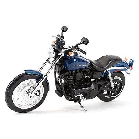 Miniatura Harley Davidson Dyna Super Glide Sport 2004 Maisto 1:12