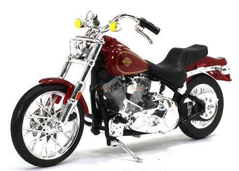 Miniatura Harley Davidson Softail FXST 1984 Maisto 1:18 - Serie 35