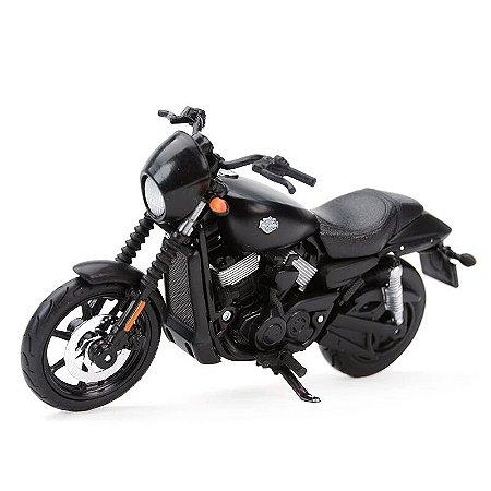 Miniatura Harley Davidson Street 750 2015 Maisto 1:18