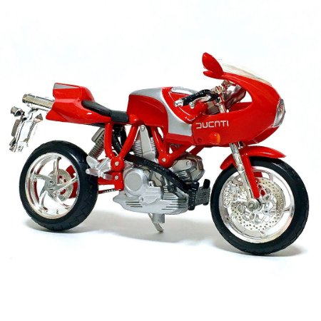 Miniatura Ducati MH900E 2001 Bburago 1:18