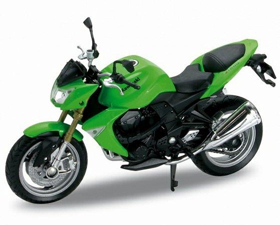 Miniatura Kawasaki Z1000 2007 Welly 1:18