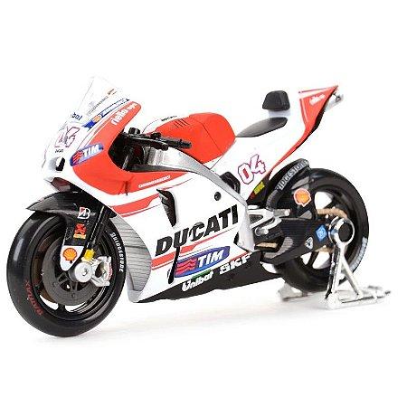 Miniatura MotoGP Andrea Dovizioso 2015 Maisto 1:18