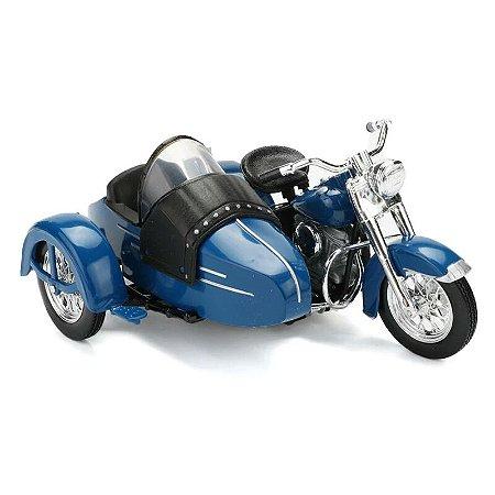 Miniatura Harley Davidson Sidecar FL Hydra Glide 1952 Maisto 1:18