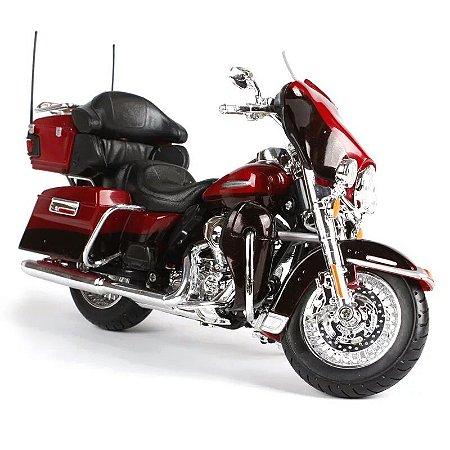 Miniatura Harley Davidson FLHTK Electra Glide Ultra Limited 2013 Maisto 1:12