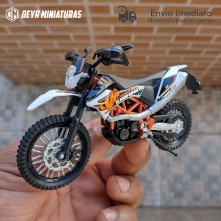 Miniatura KTM 690 Enduro R 2014 Welly 1:18