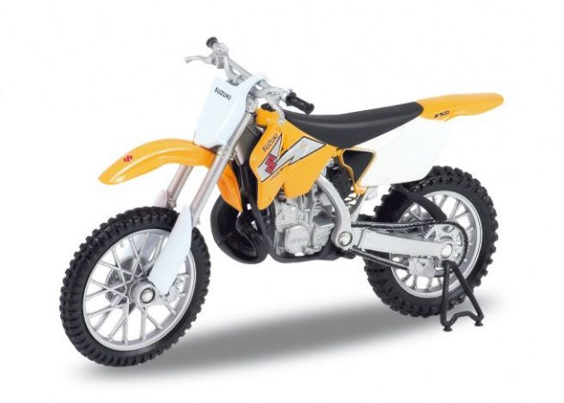 Miniatura Suzuki RM 250 2004 Welly 1:18