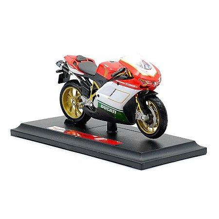 Miniatura Ducati 1098 S 2007 Maisto 1:18