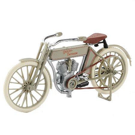 Miniatura Harley Davidson Twin 5D V-Twin 1909 Maisto 1:18