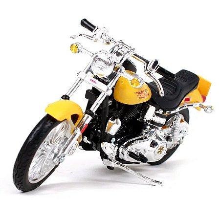 Miniatura Harley Davidson Low Rider FXS 1977 Maisto 1:18 - Series 38