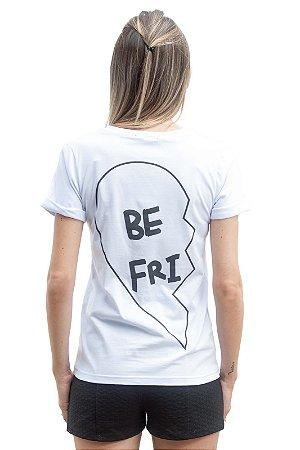 Camiseta Best Friend Branca (BeFri)