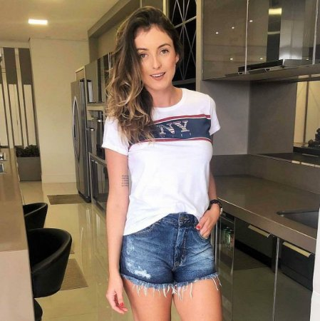 Shorts Hot Pant Jeans Escuro