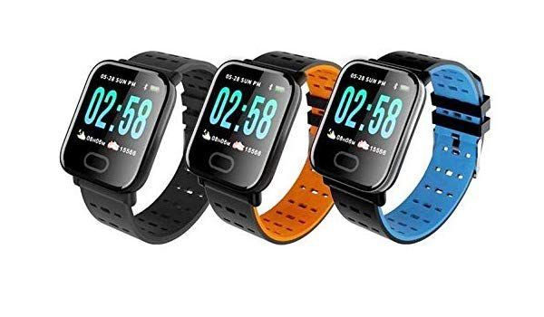 Smartwatch Bakeey A6 Relógio Monitor Oxigênio Pressão Arterial IP67 Waterproof Camera - Cores