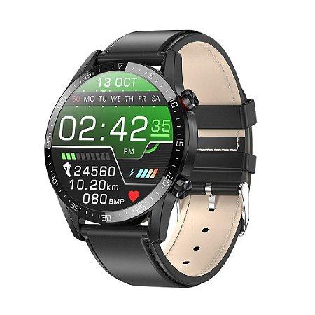 L13 Smartwatch Relogio Masculino Ecg + Ppg iP-68 Bluetooth Chamada Pressão Arterial Fitness Relógio Inteligente pronto entrega.