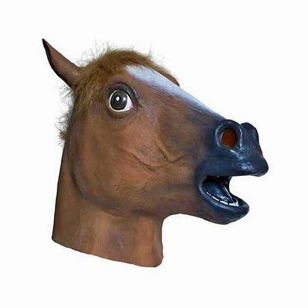 Máscara Cabeça de Cavalo - Látex