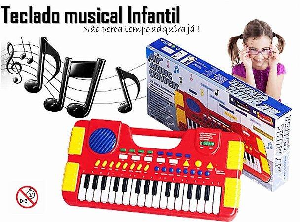 Teclado Infantil Musical Piano Center