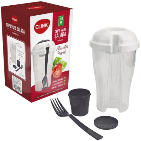 Copo Salada Clink Plástico - 700ml