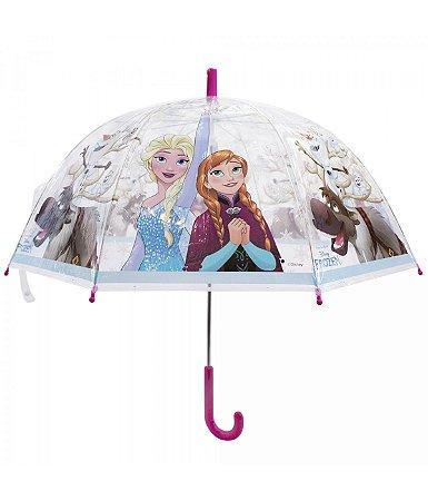 Guarda Chuva Frozen Transparente - Disney