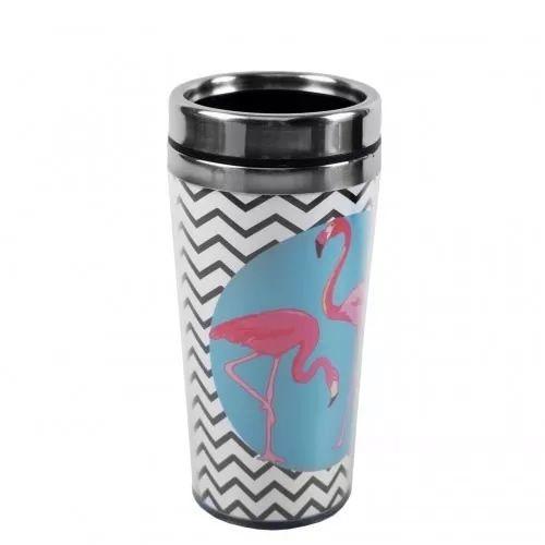 Copo de Alumínio Flamingo 450ml